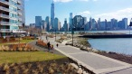 Hudson River Walkway, Jersey City, NJ