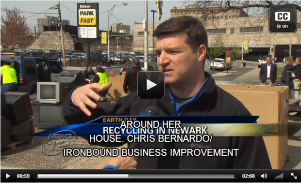 Chris Bernardo, Director of Operations for the Ironbound Business Improvement District