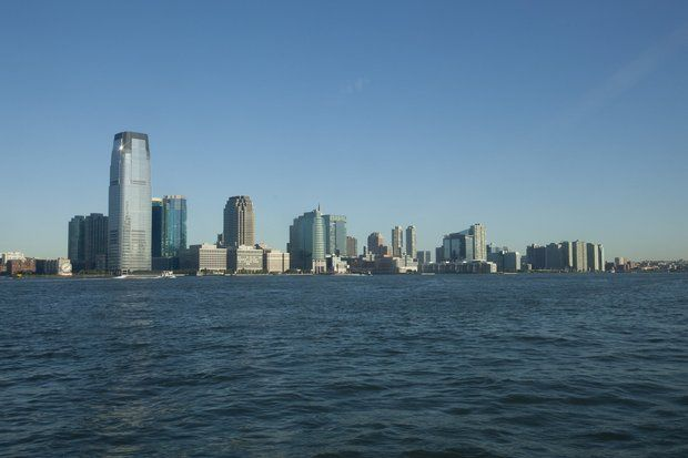 Jersey City's skyline, shown here in a 2011 file photo, might change with the addition of North Jersey's first casino. (Frances Micklow/The Star-Ledger)