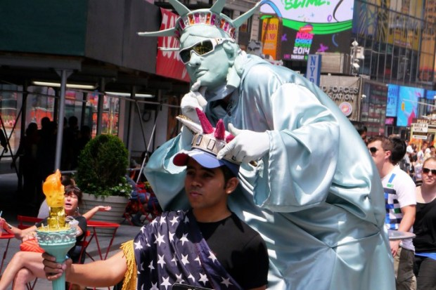 Times Square Cartoon Character Peddlers Under Fire